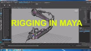 Rigging Mechanical Objects in Maya | Primer in rigging in Maya | RIGGING IN MAYA