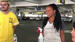 The Evasons - Mentalist Duo returning rental car at airport in El Paso, TX