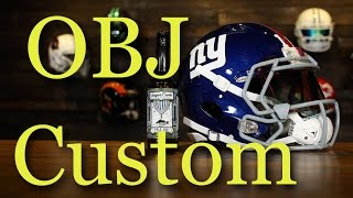 HELMET BREAKDOWN - OBJ NY Giants Riddell Speed