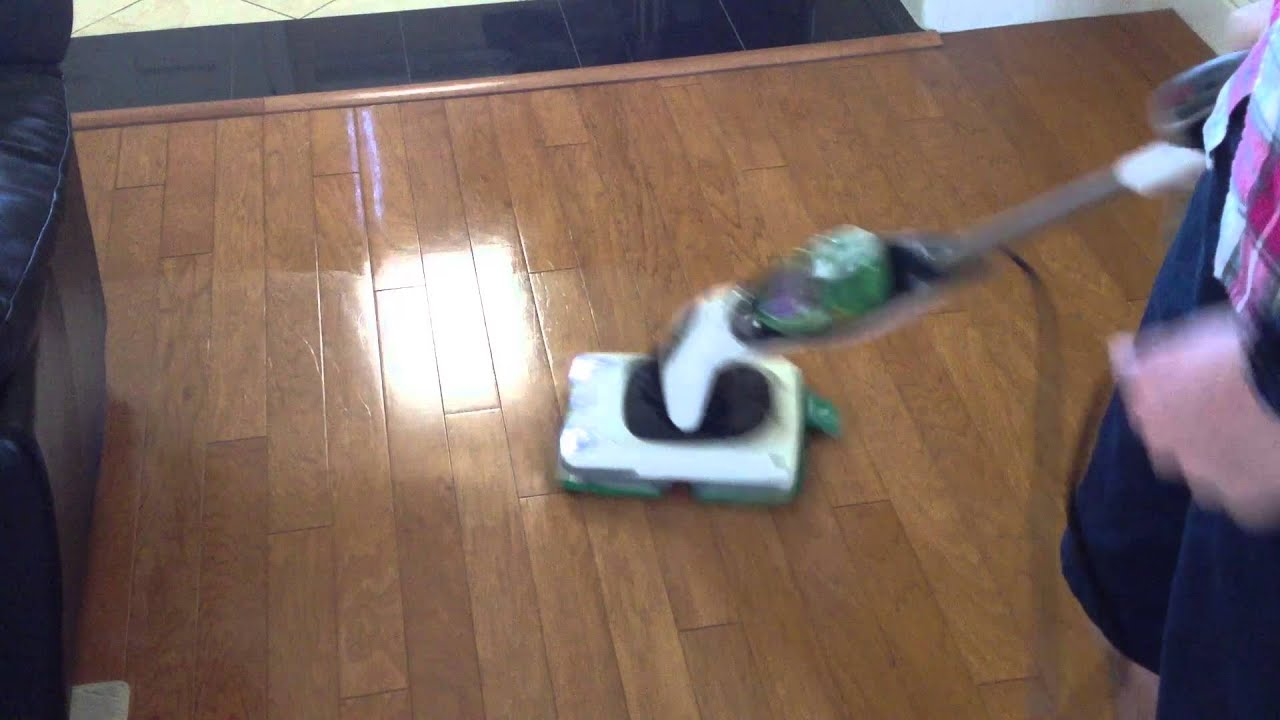 shark sonic duo hard floor demo (hardwood) - youtube