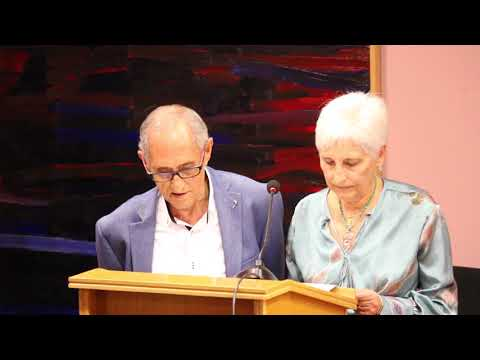 TRINI SELLER y PEPE ADSUAR recitan GRATITUD. Poemario HIPOCAMPO. José S Carrión