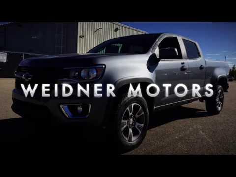 2018 Chevrolet Colorado / Crew Cab, Short Box / Z71, Steel Grey, 4X4 / 18n040