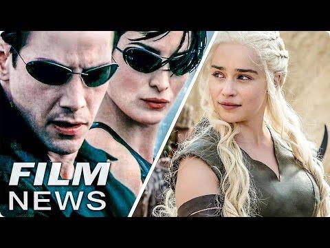 Neuer MATRIX Film - GAME OF THRONES Spin-Off? - FILM NEWS