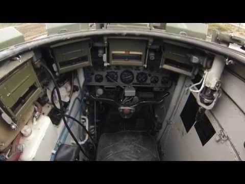 Inside BMP 1 infantry fighting vehicle (IFV)