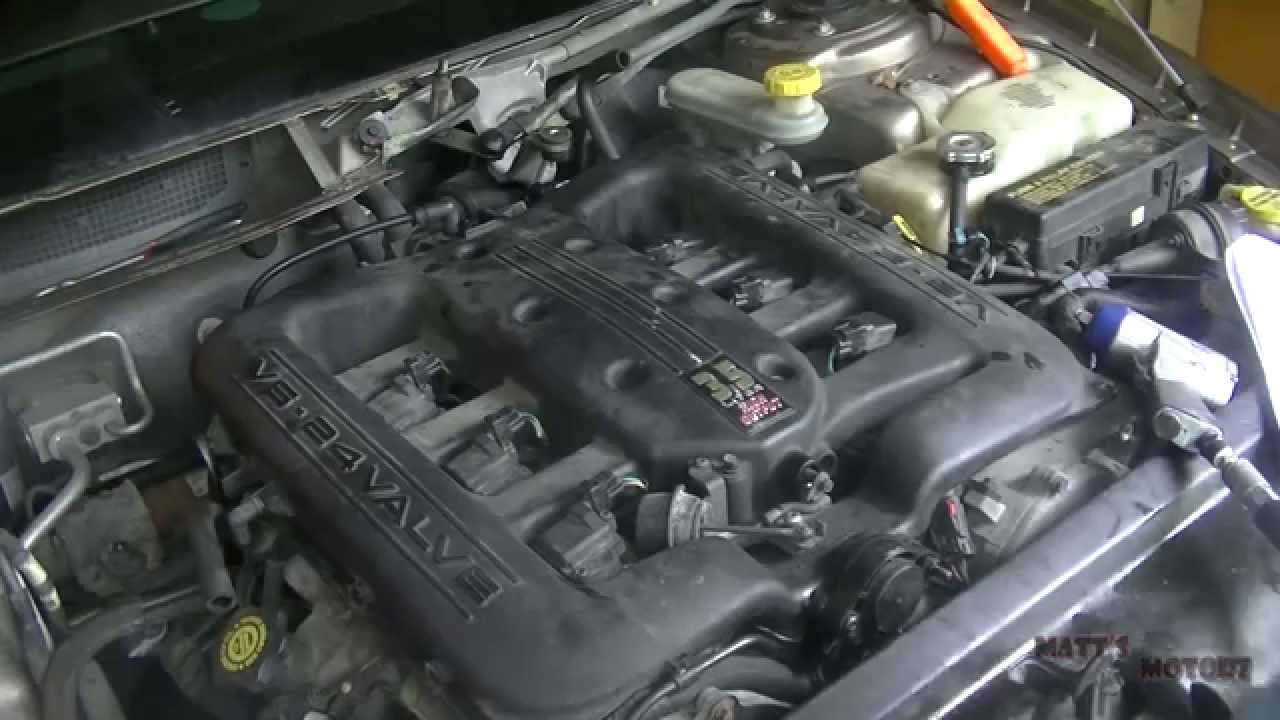 small resolution of intake manifold gaskets replacement part 3 2000 chrysler 300m youtube