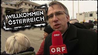 Peter Klien bei Van der Bellens Angelobung | Willkommen Österreich [1080p50]