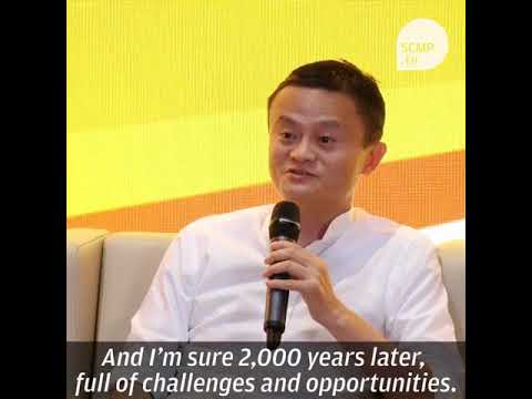 No idea What you want to do in life South China Morning- Jack Ma