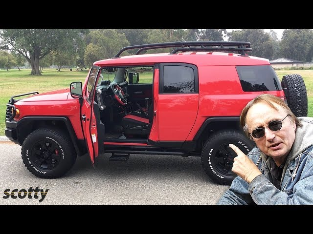 Here's Why You Need to Buy a Toyota FJ Cruiser