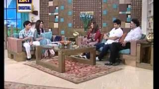 Dr. Shaista Wahidi with Asif Raza Mir n family