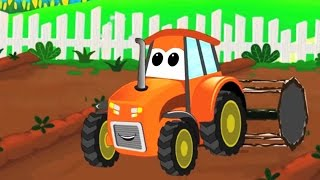 Auto waschen | Kinder-cartoon-Auto-compilation | Traktor