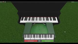 Roblox Virtual Piano - Habits by Tove Lo (Stay High)