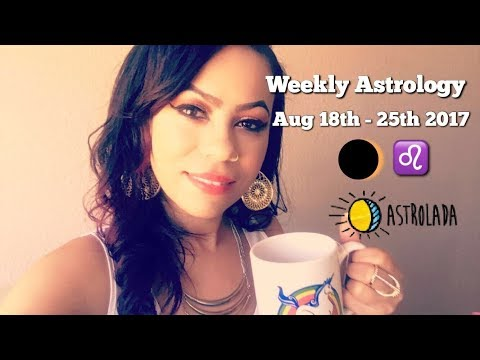 "Weekly Astrology Forecast for Aug 18th - 25th & Celebrity ""Coffee Talk"" W/Astrologer April!"