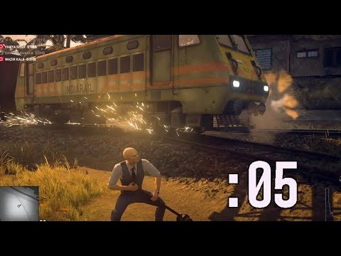 【HITMAN2】ダイナミックなターゲット暗殺方法:05