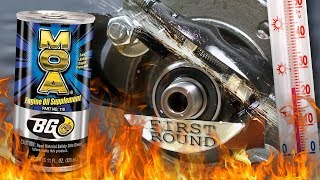 BG MOA PN 110E Dodatki do olejów Analiza Test Tarcia 100°C