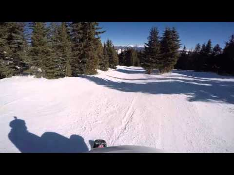 This is mono skiing!