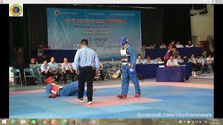 Knock out, K.O vs highlight: Hạng 68kg Giải Vô địch các đội mạnh tranh Cup vinatex 2016_Vovinam Tv