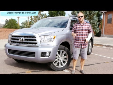 2013 Toyota Sequoia Limited 4x4 Review: Large, But In Charge?