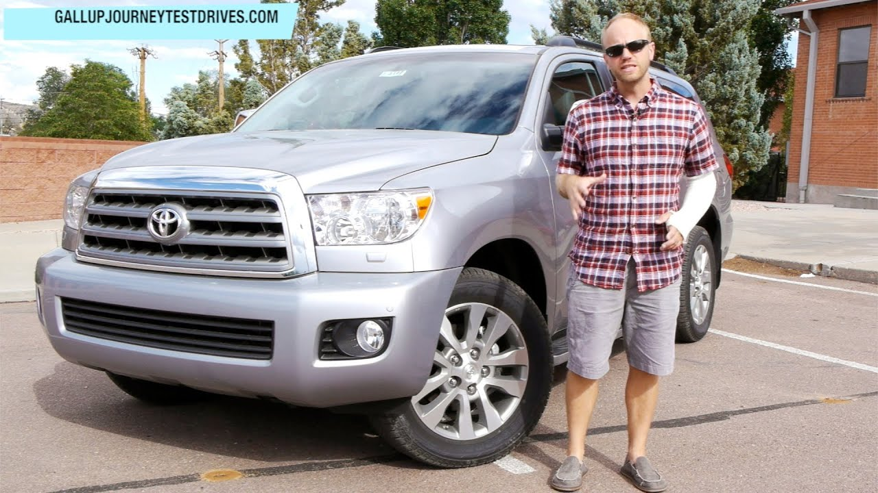 2013 toyota sequoia limited 4x4 review large but in. Black Bedroom Furniture Sets. Home Design Ideas