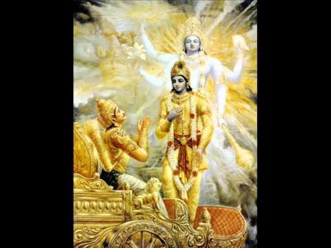 Bhagavad Gita by Ghantasala Garu in Telugu Full With Lyrics Four Parts Complete Version
