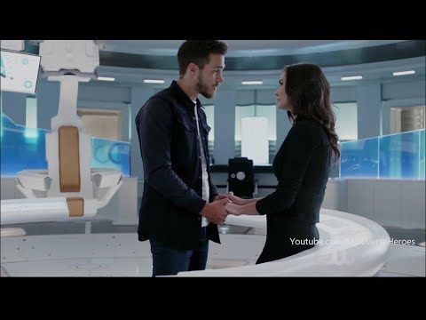 Supergirl 3×13 Mon El and Imra talk about Kara, Imra has a secret