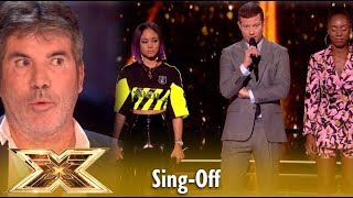 Shan vs Acacia & Aaliyah Sing-Off Leads To A CRAZY Decision! Live Shows 5 | The X Factor UK 2018