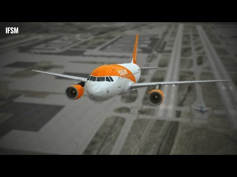 Infinite Flight Airbus A319 easyJet airlines livery - NO ATC