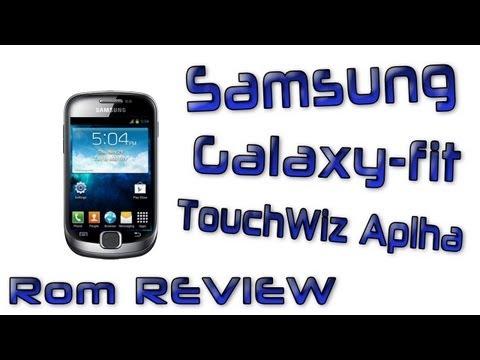 Samsung Galaxy Fit TouchWiz Alpha Rom Review