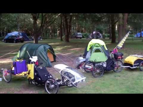 ICE  TRIKE RECUMBENTS  ((PART ONE)), TOUR OF NORFOLK