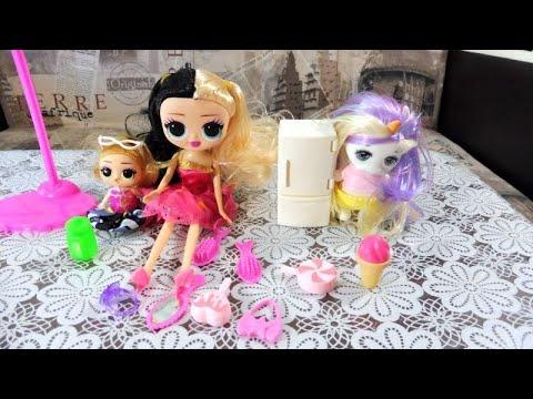 Игрушки :Пупс единорог ,Кукла ЛОЛ-аксессуары и сюрприз ...