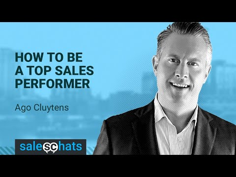 #SalesChats Ep. 63: How to Be a Top Sales Performer w/ Ago Cluytens