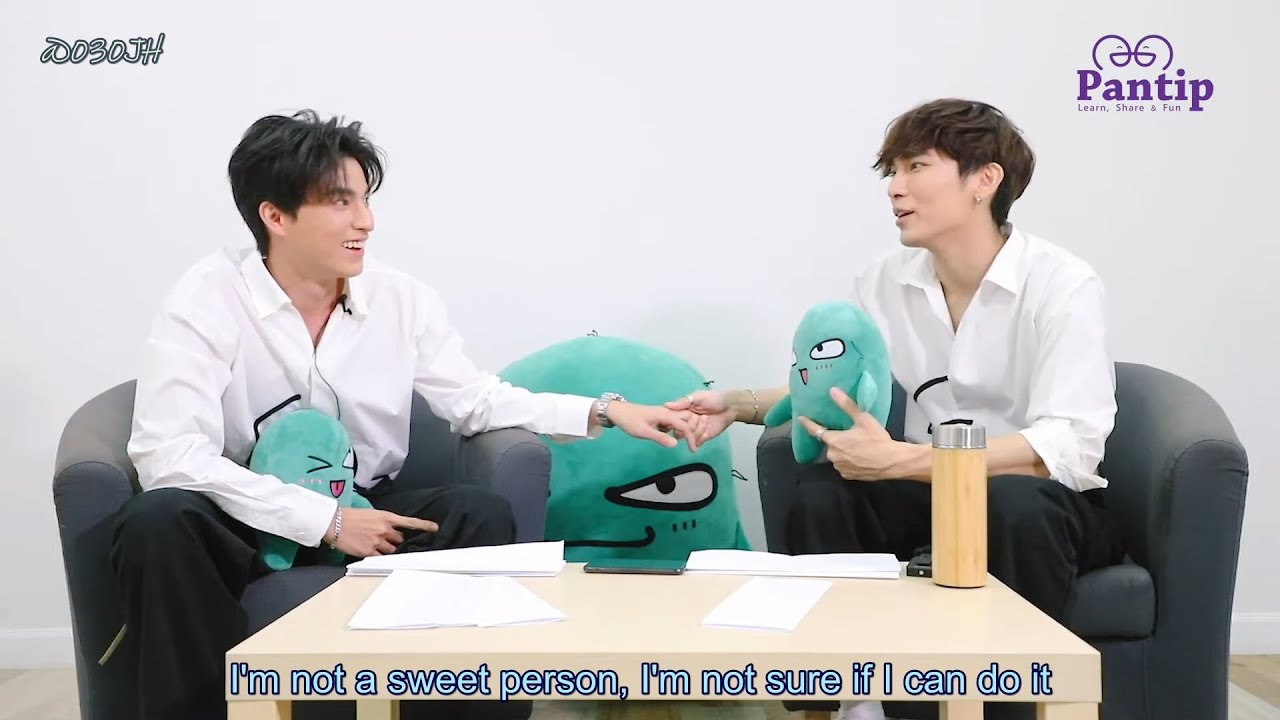 [MewGulf][Eng Sub] 200630 Pantip x MewGulf interview