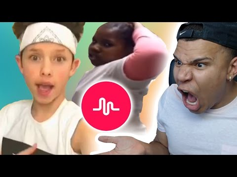 Thumbnail: BEST MUSICAL.LY CRINGE COMPILATION REACTION