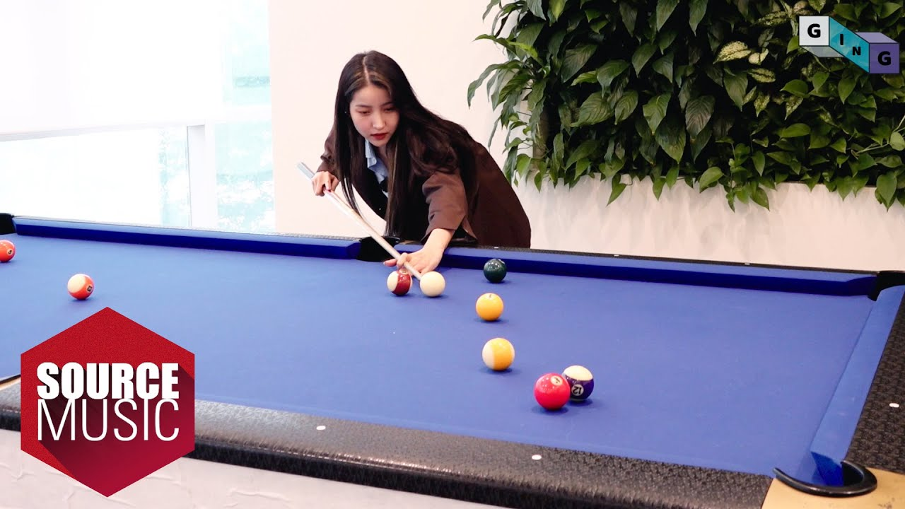[G-ING] Shoot pool - GFRIEND (여자친구)