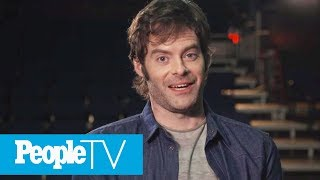 Bill Hader Reveals Which Co-Star He Had A Crush On, His First Acting Job & More | PeopleTV