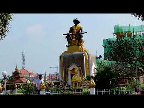 Pha That Luong and the Park in Vientiane, The Capital Lao, Asian Travel and Tours