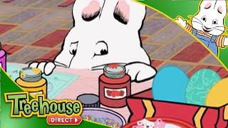 Max and Ruby | Easter Egg Decorating! | Happy Easter from Treehouse Direct!