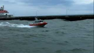 UNITED STATES COAST GUARD Riding the Rough (WIND = LOUD)