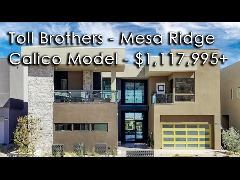 Toll Brothers, Luxurious Calico Model, $1,117,995 base, 4,398 sq.ft., 4 Beds, 4.5 Baths, 3 Car