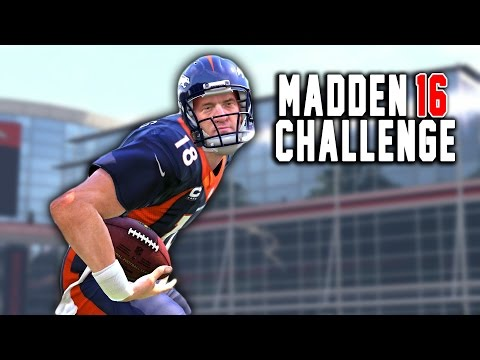 CRAZIEST ENDING EVER! - Peyton Manning The RB #8 - Madden 16 NFL Career Challenge