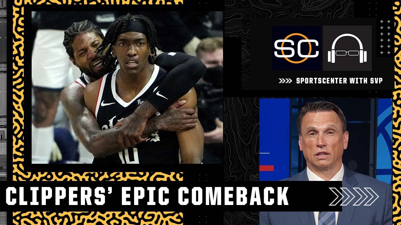 Tim Legler breaks down the Clippers' 25-point comeback to eliminate the Jazz   SC with SVP