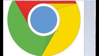 Gambar cover Google chrome logo vector speedpaint