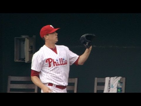MIA@PHI: Hellickson fans eight over eight innings