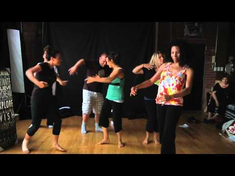DANCING THROUGH DISASTER 1st Flashmob for Charity Choreography