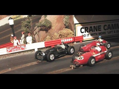 Slot Car Modeller Extraordinaire – John Bacon. Fantastic slot cars, model cars & dioramas