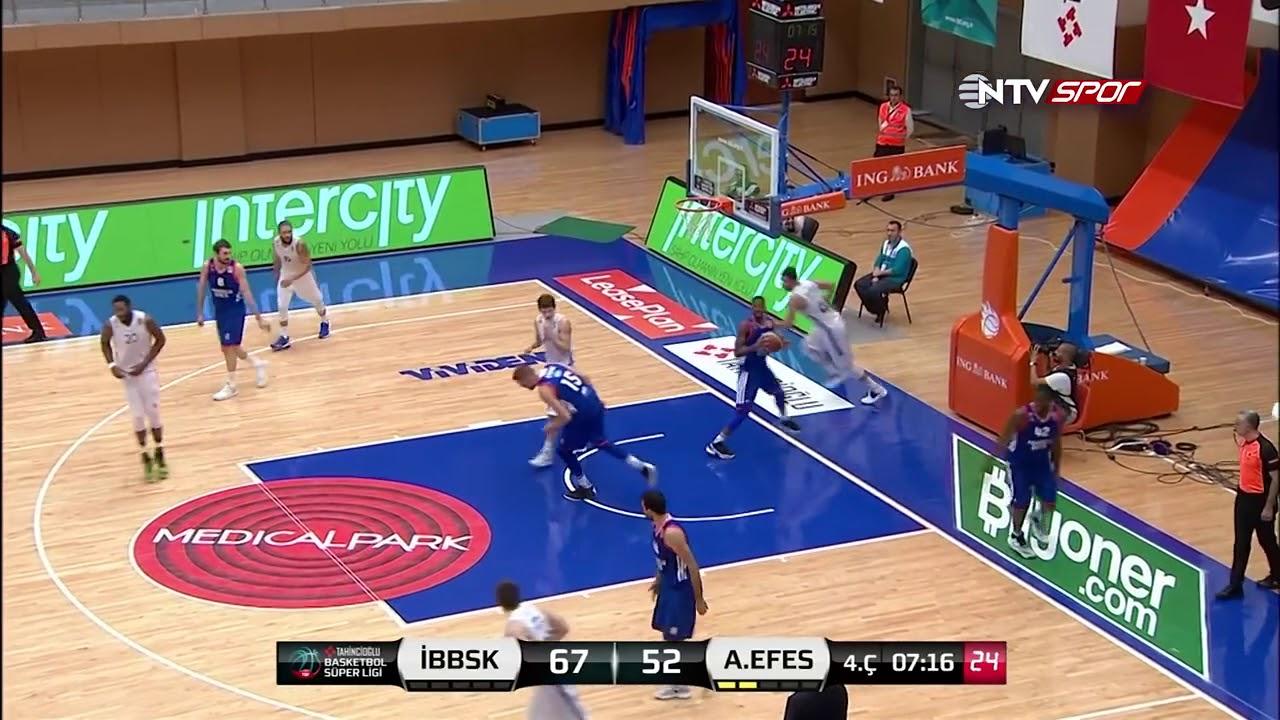 Basketbol Süper Ligi 11. Hafta: İstanbul BBSK - Anadolu Efes