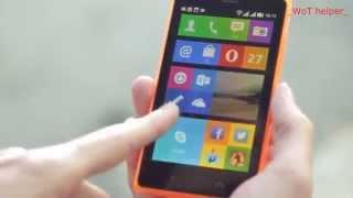 Обзор новой Nokia X2 DUAL SIM на android !