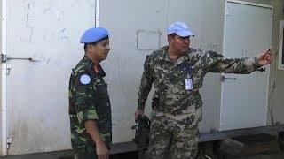 Thế giới container của Sĩ quan Liên lạc Việt Nam ở Nam Sudan