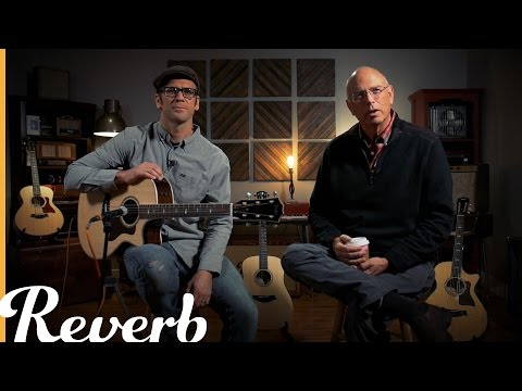 Bob Taylor & Andy Powers on Taylor Academy Series, GS MiniE Bass & 800 Deluxe  Reverb