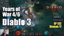 Diablo 3, season 17  Asia server  Years of war, Rank 1