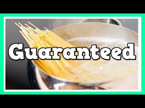 How To Keep Pasta From Boiling Over